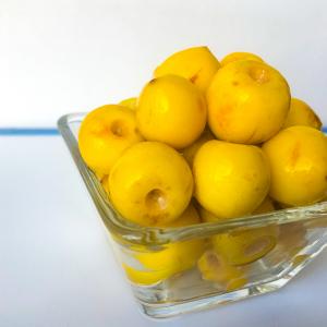 Fruit: Nance (Byrsonima crassifolia)