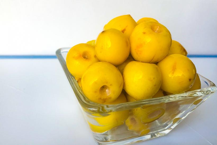 Fruta: Nance (Byrsonima crassifolia)