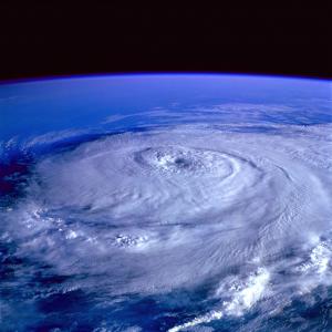 "Hurricane ""Delta"" in Cancún"