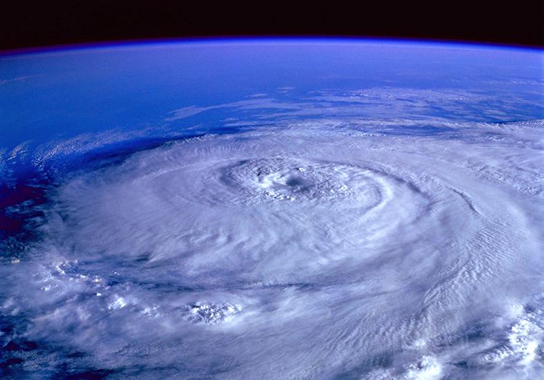 """El huracán """"Delta"""" en Cancún"""